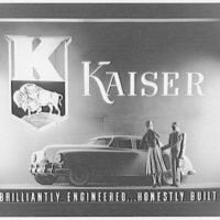 McArthur Advertising Corporation, 2480 16th Street. Kaiser auto display at Union Station III