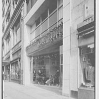Messinger's, business in New Rochelle, New York. Exterior