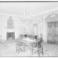 Mrs. Florence Lamont, residence in Palisades, New York. Dining room I