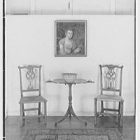 Mrs. Lawrence J. Ullman, business in Tarrytown, New York. Table and candlesticks