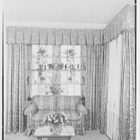 Mrs. Theo Greeff, residence at 30 Sutton Pl., New York City. Windows