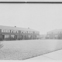 New Brunswick Housing, Codwise Ave. and Reed St., New Brunswick, New Jersey. Exterior