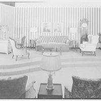 Pomeroy's, business in Harrisburg, Pennsylvania. Furniture department, platform II