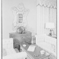 Posner, residence at 285 Central Park West, New York City. Living room III