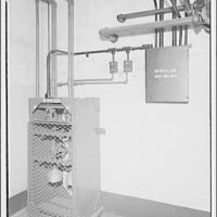 Potomac Electric Power Co. Benning plant. Fire extinguisher for no. 3 frequency changer at Benning plant II