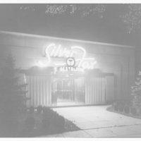 Silver Fox Restaurant, 5324 Wisconsin Ave. Exterior of Silver Fox Restaurant at 5324 Wisconsin Ave.