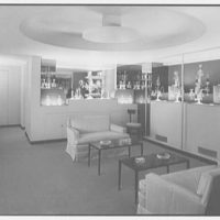 Steuben Glass, business at 718 5th Ave., New York City. Mezzanine showroom II