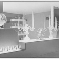 Steuben Glass, business at 718 5th Ave., New York City. Showroom III