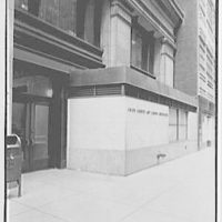 Union Carbide Building, E. 42nd St., New York, New York. Exterior