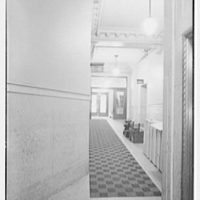 Union Carbide Building, E. 42nd St., New York, New York. Hallway II