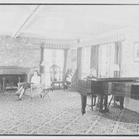 Viewpoint School, Amenia, New York. Living room