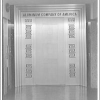 A.F. Jorss Iron Works Inc. Entrance doors to Alco (Aluminum Company of America) offices