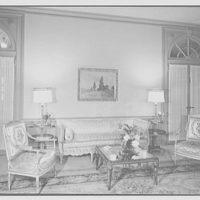 Austrian Legation, 2340 Massachusetts Ave. NW, Washington, D.C. Living room, to sofa