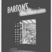 Barton's Bonbonniere, business in Brooklyn, New York. 74 De Kalb Ave.