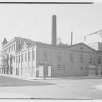 Barton's plant, De Kalb Ave., Brooklyn, New York. General view, east and north facades