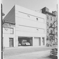 Barton's plant, De Kalb Ave., Brooklyn, New York. West facade
