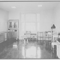 Deerfield Academy, Deerfield, Massachusetts. Infirmary, examining room