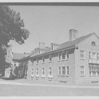 Deerfield Academy, Deerfield, Massachusetts. Infirmary exterior III