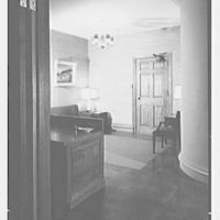Evans Case Co., business at 30 E. 33rd St., New York City. View into entrance lobby