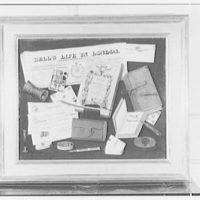 Frederick P. Victoria, business on E. 55th St., New York City. Trompe l'oeil