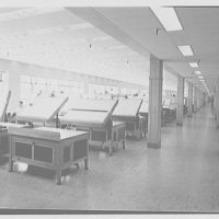 General Electric turbine plant, Schenectady, New York. Drafting room I