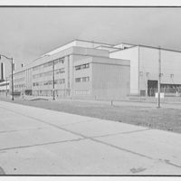 General Electric turbine plant, Schenectady, New York. General view