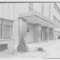General Electric turbine plant, Schenectady, New York. Main entrance