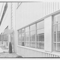 General Electric turbine plant, Schenectady, New York. View to window, sharp