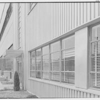 General Electric turbine plant, Schenectady, New York. View to window, sharp