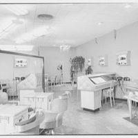 Jay Thorpe Beauty Shop, business on W. 57th St., New York City. Interior III