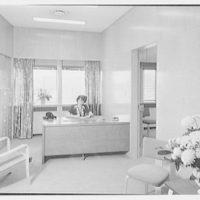 Johnson & Johnson, Metuchen, New Jersey. Mr. Leger's secretarial office