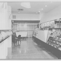Kuhl's candy store, business at 3 East State St., Trenton, New Jersey. Interior I