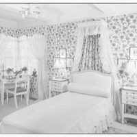 Mahoney, residence at 930 Grand Concourse, Bronx, New York. Child's bedroom, to bed