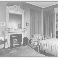 Mark Hanna, residence at 25 1/2 E. 61st St., New York City. Bedroom