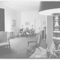 Mark Hanna, residence at 25 1/2 E. 61st St., New York City. Dining end