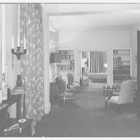 Mark Hanna, residence at 25 1/2 E. 61st St., New York City. Long view, to bedroom