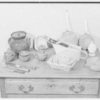Mrs. Winnifred Teag. Soupcon, accessories