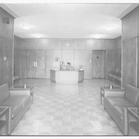 National Association of Dyers and Cleaners. Lobby in new building of National Association of Dyers and Cleaners II