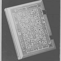 National Cathedral. Book of Common Prayer of America, closed, 1892 copy