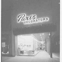 Paris Decorators, business in White Plains, New York. Exterior