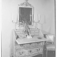 R. Olivieri, business at 127 E. 57th St., New York City. Antique mirror