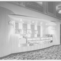 RKO theatre candy stand, New York City. Stand I, view II