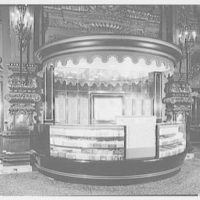 RKO theatre candy stand, New York City. Stand II, view I