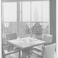 Rockefeller Center Luncheon Club, 30 Rockefeller Plaza, New York City. Interior V