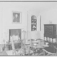 Van Cortlandt mansion, Van Cortlandt Park, Bronx, New York. Dining room I