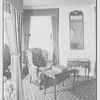 Van Cortlandt mansion, Van Cortlandt Park, Bronx, New York. Monroe bedroom II