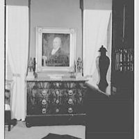 William L. Brewster, residence at 315 E. 48th St., New York City. Painting and commode