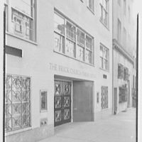 Brick Presbyterian Church parish house, 62 E. 92nd St., New York City. Entrance facade