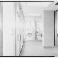 C.A.A. Federal Building, International Airport, New York City. Vestibule