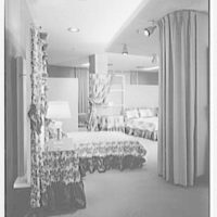 Charles Bloom, Inc., business at 15 E. 26th St., New York City. View to bedroom department